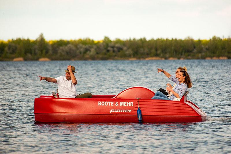 Boote & Mehr - Tretboot